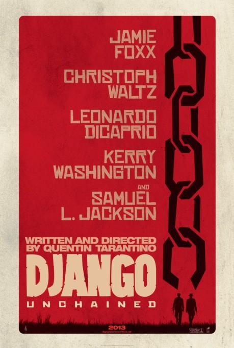 Django desencadenado - django-unchained-poster cadena largo