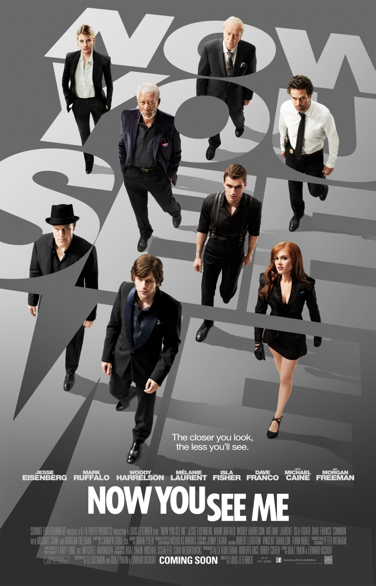 Crítica cine: Now you see me (2013)