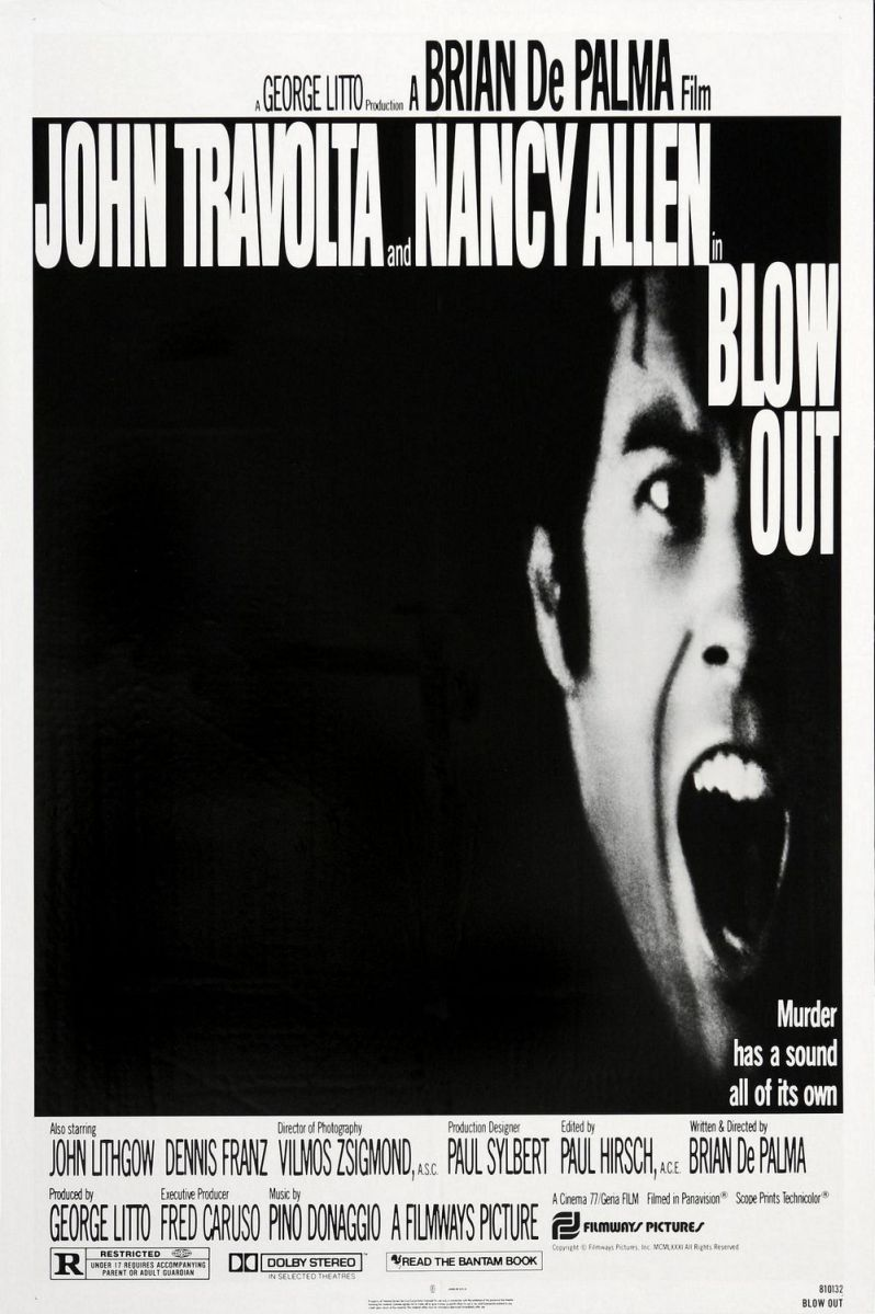 Crítica cine: Blow Out (1981)