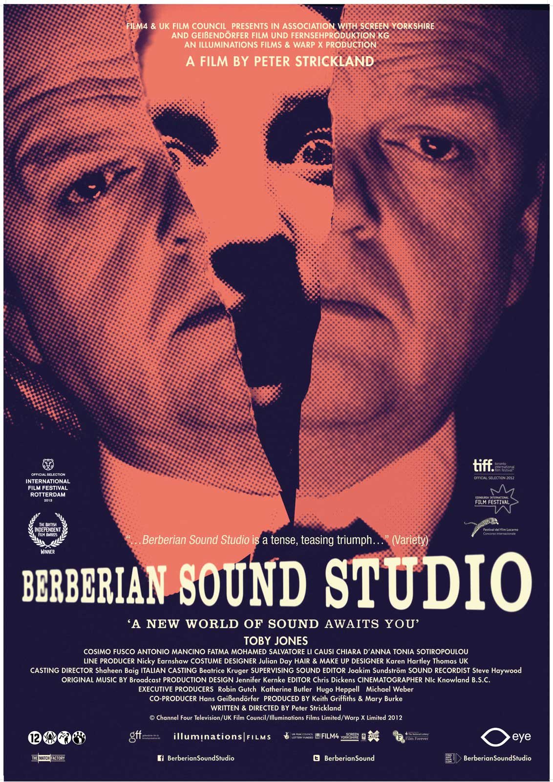 Resultado de imagen de berberian sound studio poster