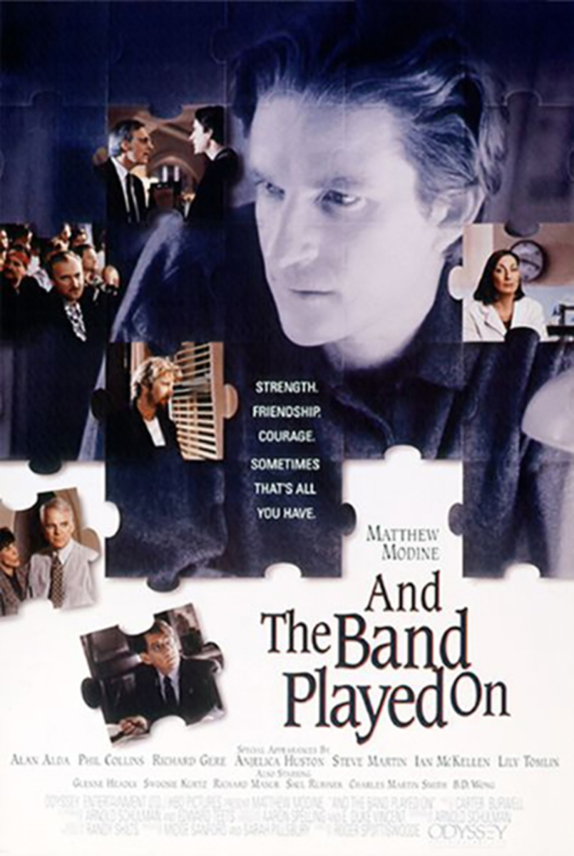 Crítica cine: And the band played on (1993)
