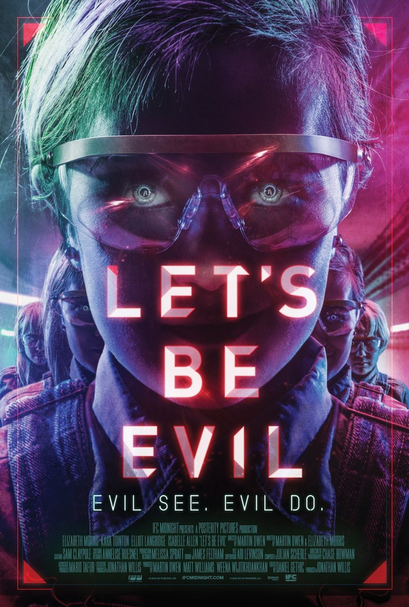 Crítica cine: Let's be evil (2016)